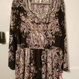 Xhilaration faux wrap dress
